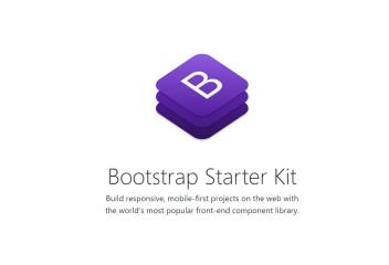 Bootstrap v4 Starter Kit
